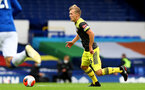 SOUTHAMPTON, ENGLAND - JULY 09: James Ward-Prowse during the Premier League match between Everton FC and Southampton FC at Goodison Park on July 9, 2020 in Liverpool, United Kingdom. Football Stadiums around Europe remain empty due to the Coronavirus Pandemic as Government social distancing laws prohibit fans inside venues resulting in games being played behind closed doors. (Photo by Matt Watson/Southampton FC)