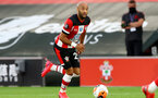 SOUTHAMPTON, ENGLAND - JULY 16: Nathan Redmond of southampton during the Premier League match between Southampton FC and Brighton & Hove Albion at St Mary's Stadium on July 16, 2020 in Southampton, United Kingdom. Football Stadiums around Europe remain empty due to the Coronavirus Pandemic as Government social distancing laws prohibit fans inside venues resulting in all fixtures being played behind closed doors. (Photo by Matt Watson/Southampton FC via Getty Images)