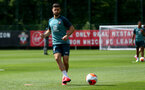 SOUTHAMPTON, ENGLAND - JULY 18: Shane Long during a Southampton FC training session at the Staplewood Campus on July 18, 2020 in Southampton, England. (Photo by Matt Watson/Southampton FC via Getty Images)
