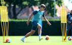 SOUTHAMPTON, ENGLAND - JULY 22: Jannik Vestergaard during a Southampton FC training session at the Staplewood Campus on July 22, 2020 in Southampton, England. (Photo by Matt Watson/Southampton FC via Getty Images)