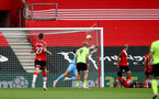 SOUTHAMPTON, ENGLAND - JULY 26: Alex McCarthy of Southampton save during the Premier League match between Southampton FC and Sheffield United at St Mary's Stadium on April 17, 2020 in Southampton, United Kingdom. (Photo by Matt Watson/Southampton FC via Getty Images)