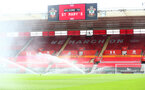 SOUTHAMPTON, ENGLAND - JULY 26: A general view ahead of the Premier League match between Southampton FC and Sheffield United at St Mary's Stadium on July 26, 2020 in Southampton, United Kingdom. (Photo by Matt Watson/Southampton FC via Getty Images)