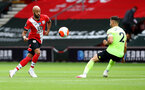 SOUTHAMPTON, ENGLAND - JULY 26: Nathan Redmond of Southampton during the Premier League match between Southampton FC and Sheffield United at St Mary's Stadium on July 26, 2020 in Southampton, United Kingdom. (Photo by Matt Watson/Southampton FC via Getty Images)
