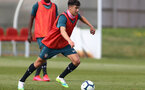 SOUTHAMPTON, ENGLAND - August 13: Marco Rus during a Southampton U18 training session at Staplewood Training ground on August 13, 2020 in Southampton, England. (Photo by Isabelle Field/Southampton FC via Getty Images)
