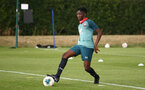 SOUTHAMPTON, ENGLAND - August 13: Kgaogelo Chauke during a Southampton U18 training session at Staplewood Training ground on August 13, 2020 in Southampton, England. (Photo by Isabelle Field/Southampton FC via Getty Images)