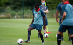 SOUTHAMPTON, ENGLAND - August 13: Lucas Defise during a Southampton U18 training session at Staplewood Training ground on August 13, 2020 in Southampton, England. (Photo by Isabelle Field/Southampton FC via Getty Images)