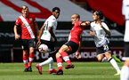 SOUTHAMPTON, ENGLAND - AUGUST 29: Oriol Romeu during a pre-season friendly between Southampton FC and Swansea City at St Marys Stadium, on August 29, 2020 in Southampton, England. (Photo by Matt Watson/Southampton FC via Getty Images)