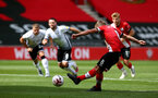 SOUTHAMPTON, ENGLAND - AUGUST 29: James Ward-Prowse scores from the penalty spot during a pre-season friendly between Southampton FC and Swansea City at St Marys Stadium, on August 29, 2020 in Southampton, England. (Photo by Matt Watson/Southampton FC via Getty Images)