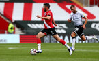 SOUTHAMPTON, ENGLAND - AUGUST 29: Shane Long during a pre-season friendly between Southampton FC and Swansea City at St Marys Stadium, on August 29, 2020 in Southampton, England. (Photo by Matt Watson/Southampton FC via Getty Images)