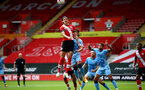 SOUTHAMPTON, ENGLAND - SEPTEMBER 1: Alfie Jones of Southampton during a pre-season friendly match between Southampton U23 and Coventry City at St Mary's Stadium on September 1, 2020 in Southampton, United Kingdom. (Photo by Isabelle Field/Southampton FC)