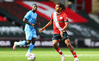 SOUTHAMPTON, ENGLAND - SEPTEMBER 1: Caleb Watts of Southampton during a pre-season friendly match between Southampton U23 and Coventry City at St Mary's Stadium on September 1, 2020 in Southampton, United Kingdom. (Photo by Isabelle Field/Southampton FC)