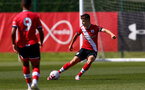 SOUTHAMPTON, ENGLAND - SEPTEMBER 05: Sam Bailey during a Southampton FC U23 pre season friendly against Working FC at Staplewood Campus on September 05, 2020 in Southampton, England. (Photo by Isabelle Field/Southampton FC)