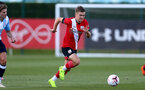 SOUTHAMPTON, ENGLAND - SEPTEMBER 05: Seamas Keogh during a Southampton FC U23 pre season friendly against Working FC at Staplewood Campus on September 05, 2020 in Southampton, England. (Photo by Isabelle Field/Southampton FC)