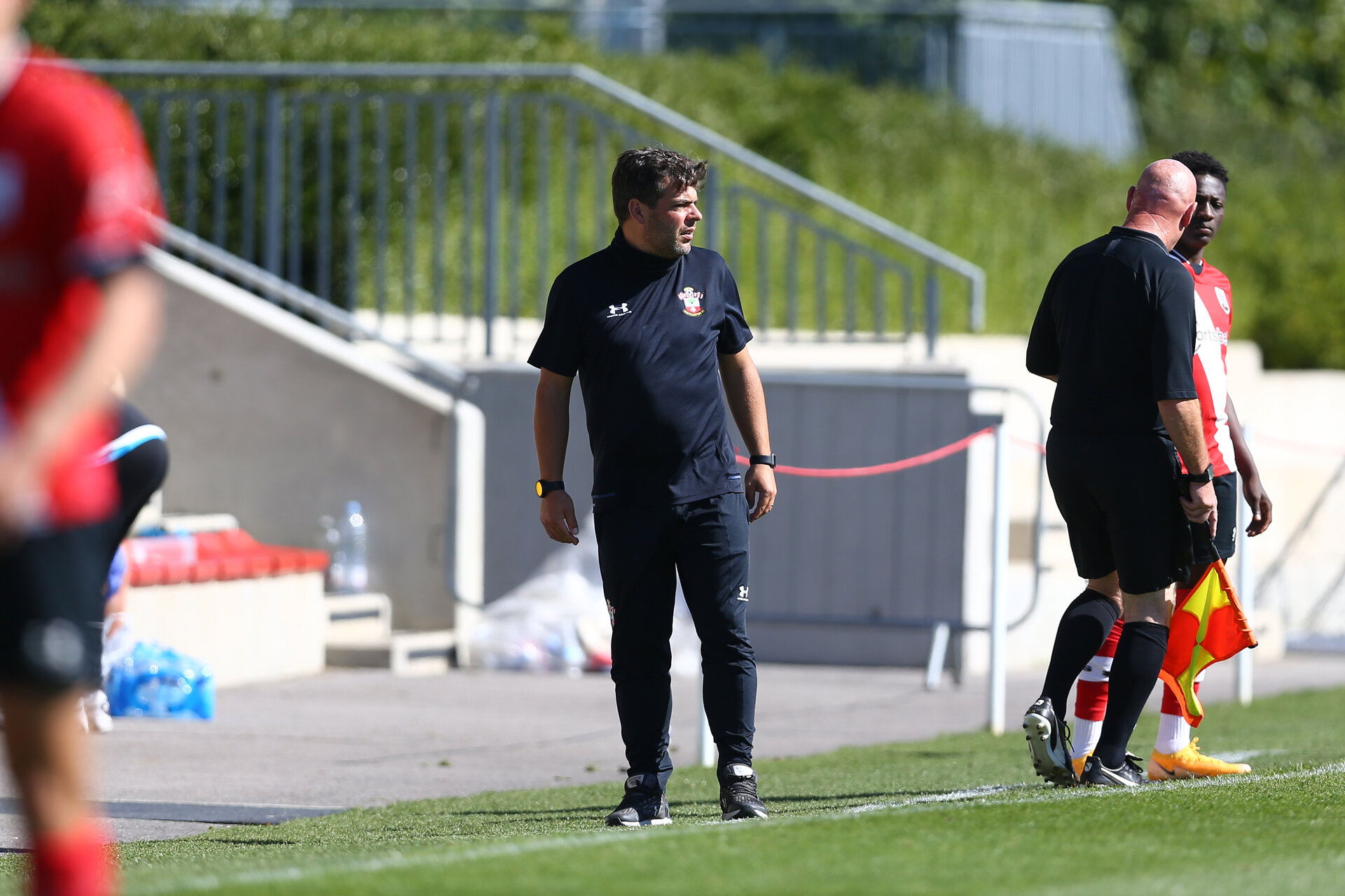 SOUTHAMPTON, ENGLAND - SEPTEMBER 05: David Horseman during a Southampton FC U23 pre season friendly against Working FC at Staplewood Campus on September 05, 2020 in Southampton, England. (Photo by Isabelle Field/Southampton FC)