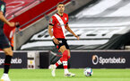 SOUTHAMPTON, ENGLAND - SEPTEMBER 16: Jan Bednarek of Southampton during the second round of the Carabao Cup match between Southampton FC and Brentford FC at St. Mary's Stadium on September 16, 2020 in Southampton, England. (Photo by Matt Watson/Southampton FC via Getty Images)
