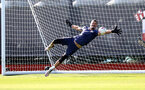 SOUTHAMPTON, ENGLAND - SEPTEMBER 18: Fraser Forster during a Southampton FC training session at the Staplewood Campus on September 18, 2020 in Southampton, England. (Photo by Matt Watson/Southampton FC via Getty Images)