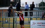 SOUTHAMPTON, ENGLAND - SEPTEMBER 18: Will Ferry of Southampton during the Premier League 2 match between Southampton FC B Team and Chelsea FC at Snows Stadium on September 18, 2020 in Southampton, England. (Photo by Isabelle Field/Southampton FC via Getty Images)