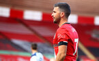 SOUTHAMPTON, ENGLAND - SEPTEMBER 20: Shane Long of Southampton during the Premier League match between Southampton and Tottenham Hotspur at St Mary's Stadium on September 20, 2020 in Southampton, United Kingdom. (Photo by Matt Watson/Southampton FC via Getty Images)