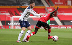 SOUTHAMPTON, ENGLAND - SEPTEMBER 20: Moussa Djenepo during the Premier League match between Southampton and Tottenham Hotspur at St Mary's Stadium on September 20, 2020 in Southampton, United Kingdom. (Photo by Chris Moorhouse/Southampton FC via Getty Images)