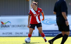 Southampton, ENGLAND - SEPTEMBER 27: Shannon Siewright of Southampton during the FAWNL match between Southampton Women and Buckland Athletic at Snows Stadium on September 27, 2020 in Southampton, United Kingdom (Photo by Isabelle Field/Southampton FC via Getty Images)