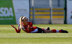 Southampton, ENGLAND - SEPTEMBER 27: Phoebe Williams of Southampton during the FAWNL match between Southampton Women and Buckland Athletic at Snows Stadium on September 27, 2020 in Southampton, United Kingdom (Photo by Isabelle Field/Southampton FC via Getty Images)