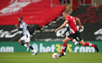 SOUTHAMPTON, ENGLAND - OCTOBER 04: James Ward-Prowse during the Premier League match between Southampton and West Bromwich Albion at St Mary's Stadium on October 4, 2020 in Southampton, United Kingdom. Sporting stadiums around the UK remain under strict restrictions due to the Coronavirus Pandemic as Government social distancing laws prohibit fans inside venues resulting in games being played behind closed doors. (Photo by Chris Moorhouse/Southampton FC via Getty Images)
