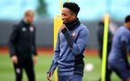SOUTHAMPTON, ENGLAND - OCTOBER 12: Kyle Walker-Peters during a Southampton FC training session at the Staplewood Campus on October 12, 2020 in Southampton, England. (Photo by Matt Watson/Southampton FC via Getty Images)