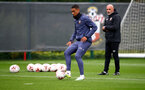 SOUTHAMPTON, ENGLAND - OCTOBER 12: Yan Valery during a Southampton FC training session at the Staplewood Campus on October 12, 2020 in Southampton, England. (Photo by Matt Watson/Southampton FC via Getty Images)
