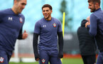 SOUTHAMPTON, ENGLAND - OCTOBER 12: Che Adams during a Southampton FC training session at the Staplewood Campus on October 12, 2020 in Southampton, England. (Photo by Matt Watson/Southampton FC via Getty Images)