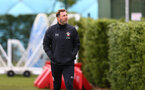 SOUTHAMPTON, ENGLAND - OCTOBER 21: Ralph Hasenhuttl during a Southampton FC Training session at the Staplewood Complex on October 21, 2020 in Southampton, England. (Photo by Isabelle Field/Southampton FC via Getty Images)