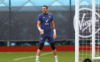 SOUTHAMPTON, ENGLAND - OCTOBER 21: Alex McCarthy during a Southampton FC Training session at the Staplewood Complex on October 21, 2020 in Southampton, England. (Photo by Isabelle Field/Southampton FC via Getty Images)