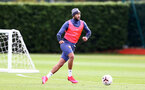 SOUTHAMPTON, ENGLAND - OCTOBER 21: Nathan Redmond during a Southampton FC Training session at the Staplewood Complex on October 21, 2020 in Southampton, England. (Photo by Isabelle Field/Southampton FC via Getty Images)