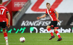 SOUTHAMPTON, ENGLAND - OCTOBER 25: James Ward-Prowse of Southampton during the Premier League match between Southampton and Everton at St Mary's Stadium on October 25, 2020 in Southampton, England. Sporting stadiums around the UK remain under strict restrictions due to the Coronavirus Pandemic as Government social distancing laws prohibit fans inside venues resulting in games being played behind closed doors. (Photo by Matt Watson/Southampton FC via Getty Images)