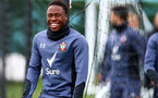 SOUTHAMPTON, ENGLAND - OCTOBER 28: Michael Obafemi during a Southampton FC training session at the Staplewood Campus on October 28, 2020 in Southampton, England. (Photo by Matt Watson/Southampton FC via Getty Images)