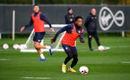 SOUTHAMPTON, ENGLAND - OCTOBER 28: Kyle Walker-Peters during a Southampton FC training session at the Staplewood Campus on October 28, 2020 in Southampton, England. (Photo by Matt Watson/Southampton FC via Getty Images)