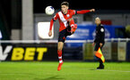 SOUTHAMPTON, ENGLAND - NOVEMBER 02: James Morris of Southampton during the Hampshire FA Senior Cup semi-final between Eastleigh FC and Southampton FC B Team at Silverlake Stadium on November 02, 2020 in Southampton, England. (Photo by Isabelle Field/Southampton FC via Getty Images) (Photo by Isabelle Field/Isabelle Field)