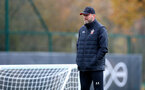 SOUTHAMPTON, ENGLAND - NOVEMBER 11: Ralph Hasenhüttl during a Southampton FC training session at the Staplewood Campus on November 11, 2020 in Southampton, England. (Photo by Matt Watson/Southampton FC via Getty Images)