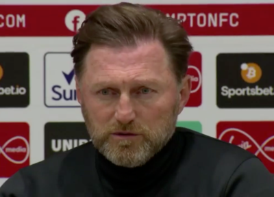 Press Conference (part two): Hasenhüttl assesse Man United