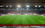 SOUTHAMPTON, ENGLAND - NOVEMBER 30: General view of St Mary's Stadium during the Premier League 2 match between Southampton FC B Team and Brighton & Hove Albion at the St Mary's Stadium on November 30, 2020 in Southampton, England. (Photo by Isabelle Field/Southampton FC via Getty Images)