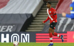 SOUTHAMPTON, ENGLAND - NOVEMBER 30: Kayne Ramsay of Southampton during the Premier League 2 match between Southampton FC B Team and Brighton & Hove Albion at the St Mary's Stadium on November 30, 2020 in Southampton, England. (Photo by Isabelle Field/Southampton FC via Getty Images)