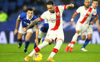BRIGHTON, ENGLAND - DECEMBER 07: Danny Ings of Southampton taking penalty during the Premier League match between Brighton & Hove Albion and Southampton at American Express Community Stadium on December 07, 2020 in Brighton, England. A limited number of fans (2000) are welcomed back to stadiums to watch elite football across England. This was following easing of restrictions on spectators in tiers one and two areas only. (Photo by Matt Watson/Southampton FC via Getty Images)