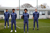 Four youngsters sign professional deals
