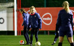 SOUTHAMPTON, ENGLAND - DECEMBER 09 : Phoebe Williams during Southampton Women's training session at Staplewood Complex on December 09, 2020 in Southampton, England. (Photo by Isabelle Field/Southampton FC via Getty Images)  (Photo by Isabelle Field/Southampton FC via Getty Images)