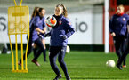 SOUTHAMPTON, ENGLAND - DECEMBER 09 : Ella Pusey during Southampton Women's training session at Staplewood Complex on December 09, 2020 in Southampton, England. (Photo by Isabelle Field/Southampton FC via Getty Images)  (Photo by Isabelle Field/Southampton FC via Getty Images)