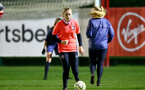 SOUTHAMPTON, ENGLAND - DECEMBER 09 : Kelly Snook during Southampton Women's training session at Staplewood Complex on December 09, 2020 in Southampton, England. (Photo by Isabelle Field/Southampton FC via Getty Images)  (Photo by Isabelle Field/Southampton FC via Getty Images)
