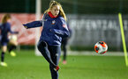 SOUTHAMPTON, ENGLAND - DECEMBER 09 : Cattlin Morris during Southampton Women's training session at Staplewood Complex on December 09, 2020 in Southampton, England. (Photo by Isabelle Field/Southampton FC via Getty Images)  (Photo by Isabelle Field/Southampton FC via Getty Images)