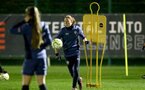 SOUTHAMPTON, ENGLAND - DECEMBER 09 : Rachel Panting during Southampton Women's training session at Staplewood Complex on December 09, 2020 in Southampton, England. (Photo by Isabelle Field/Southampton FC via Getty Images)  (Photo by Isabelle Field/Southampton FC via Getty Images)