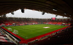SOUTHAMPTON, ENGLAND - DECEMBER 13: A general view during the Premier League match between Southampton and Sheffield United at St Mary's Stadium on December 13, 2020 in Southampton, England. A limited number of spectators (2000) are welcomed back to stadiums to watch elite football across England. This was following easing of restrictions on spectators in tiers one and two areas only. (Photo by Matt Watson/Southampton FC via Getty Images)