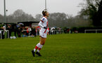 WIMBORNE, ENGLAND - DECEMBER 13: Ella Pusey of Southampton goal celebration during The Vitality Women's FA Cup, first-round proper match between AFC Bournemouth and Southampton FC Women's at Verwood FC on December 13, 2020 in, Wimborne, England. (Photo by Isabelle Field/Southampton FC via Getty Images)