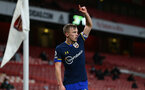LONDON, ENGLAND - DECEMBER 16: James Ward-Prowse of Southampton during the Premier League match between Arsenal and Southampton at Emirates Stadium on December 16, 2020 in London, England. The match will be played without fans, behind closed doors as a Covid-19 precaution. (Photo by Matt Watson/Southampton FC via Getty Images)